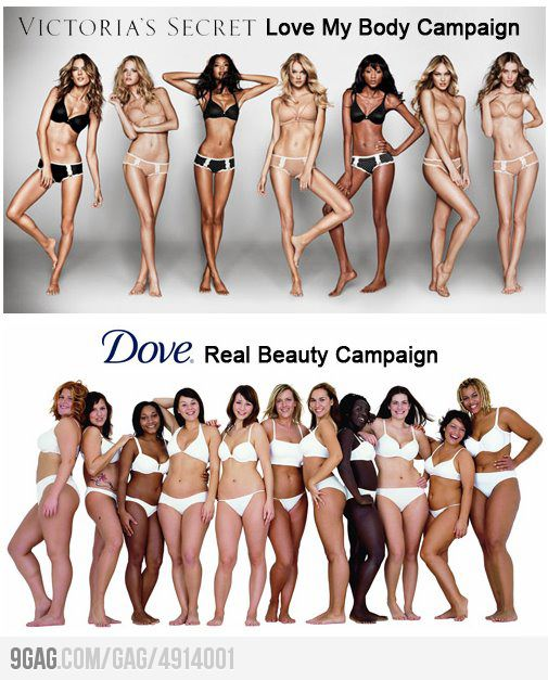 victorias Secret vs dove