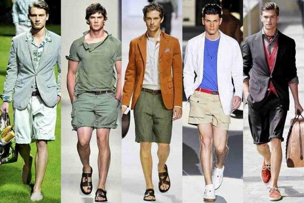 Mann kurze Hose