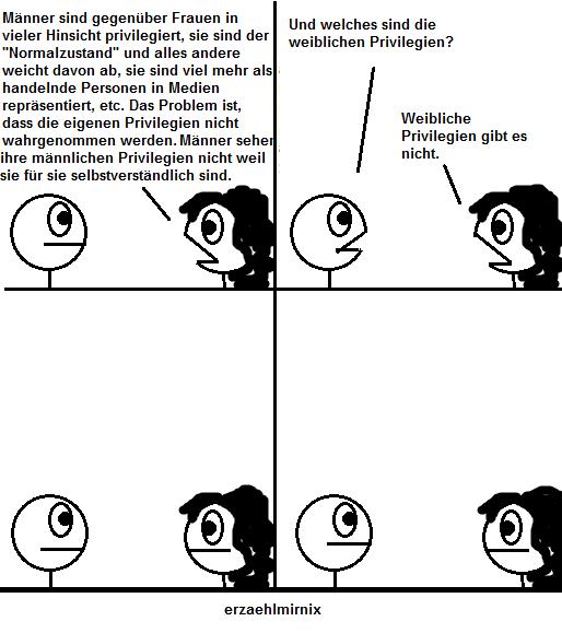 Erzählmirnix Privilegien