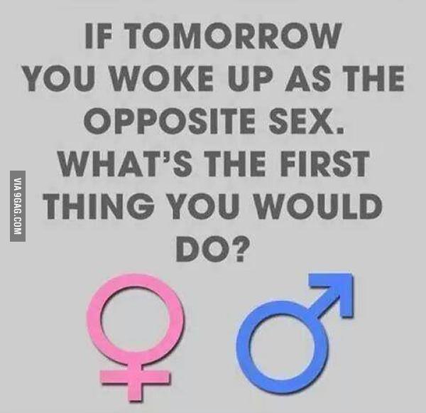 Aufwachen als das andere Geschlecht