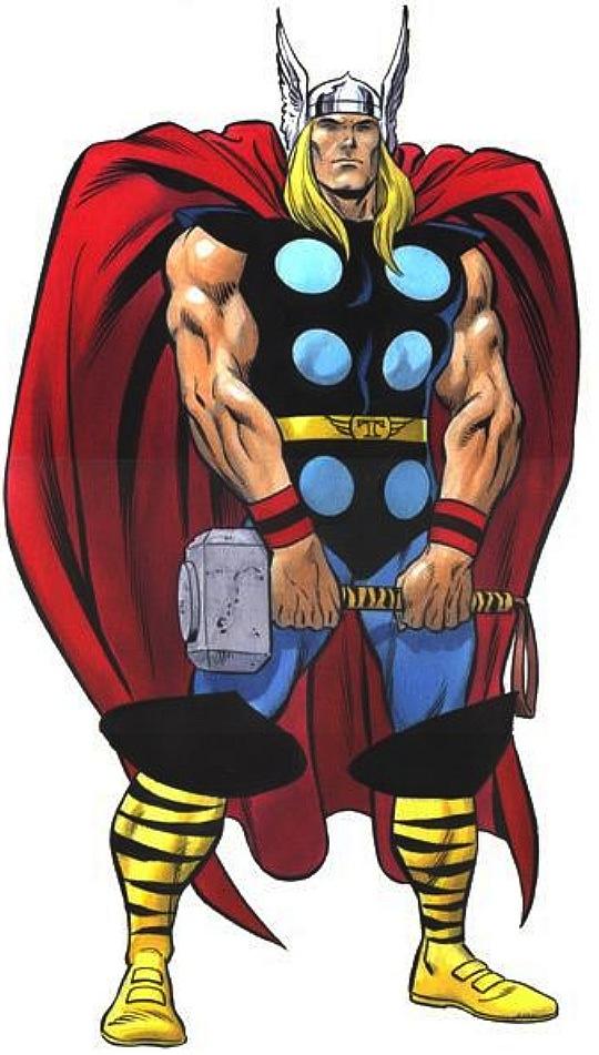 Thor aus dem Comic