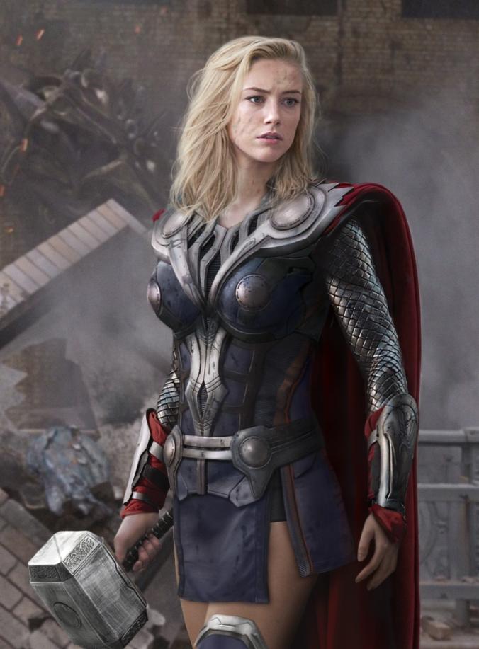 Sexy Thor Frau