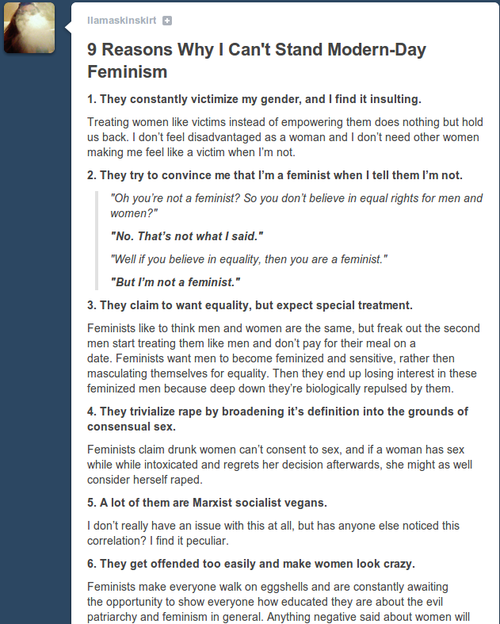 women against feminism 21