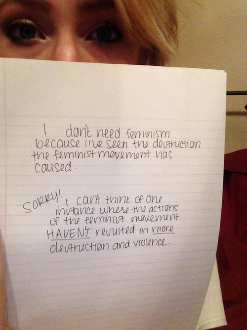 women against feminism 6