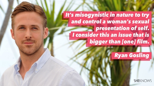 Feminist Male Ryan Gosling