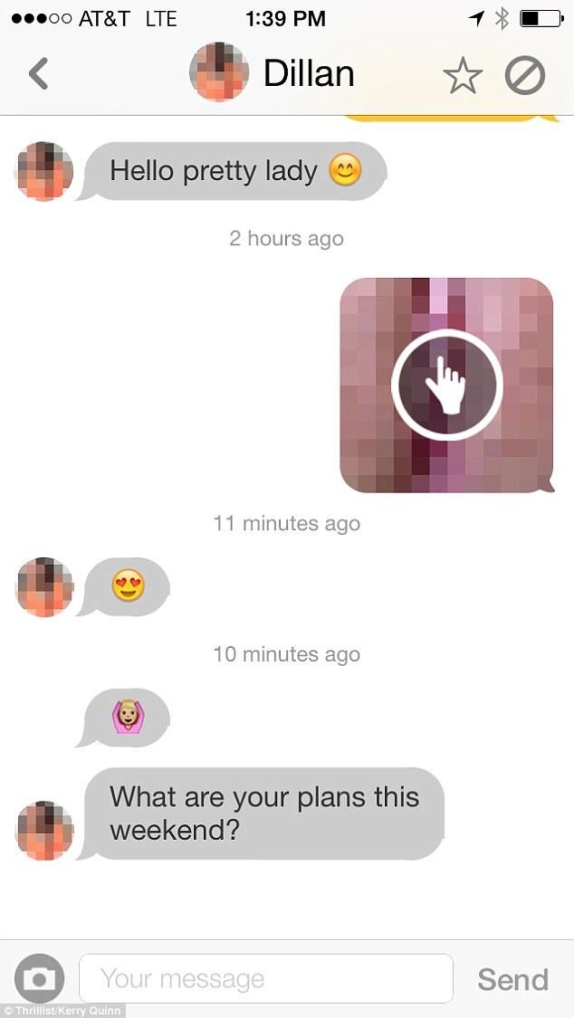 Vagina Bilder im Chat