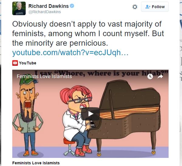 Dawkins Feminists