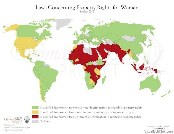 Eigentumsrechte Frauen Männer