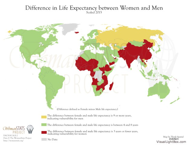 Lebenserwartung Männer Frauen
