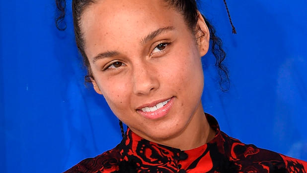 Alicia Keys ohne Makeup
