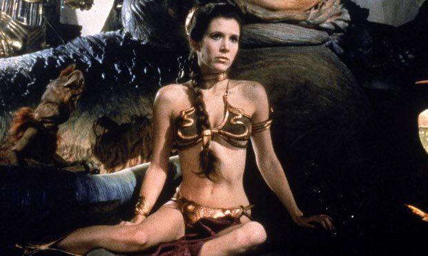 Prinzessin Leia Sklavin-goldener Bikini