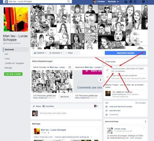 man tau facebook