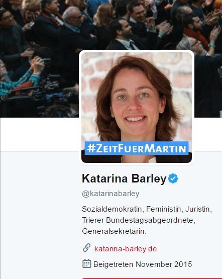 Katarina Barley katarinabarley Twitter