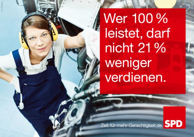 SPD Frauen im technischen Bereich halfen auch nicht