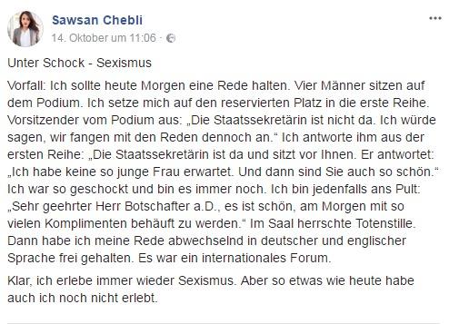 Sawsan Chebli Sexismus
