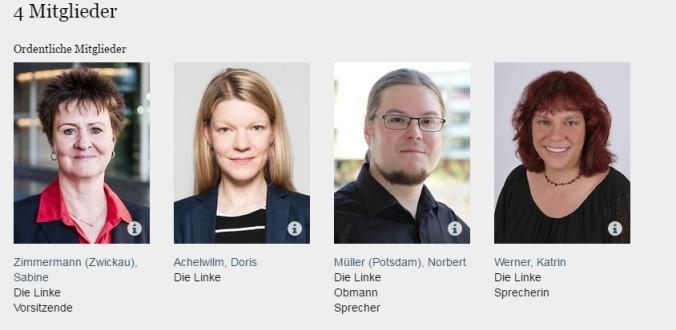 Deutscher Bundestag Ausschuss für Familie Senioren Frauen und Jugend Die Linke