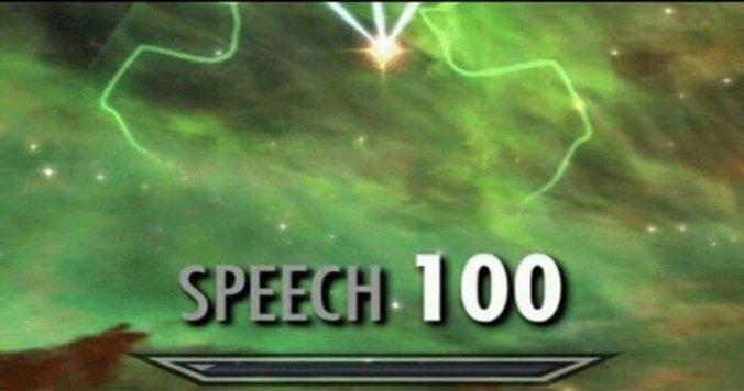 Speech 100