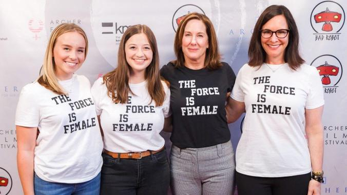Kathleen Kennedy Force is Female